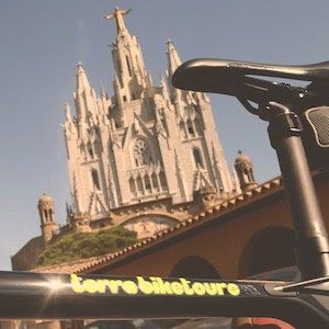 Cycle the roads of Collserola up to Tibidabo with our pre-loaded GPS routes