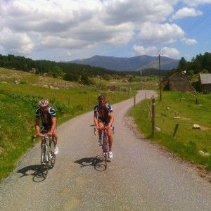 4th day cycling from Puigcerdà and the South of France