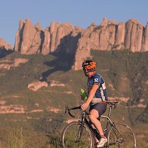 Cycling the surroundings and ascending Montserrat to discover this natural beauty