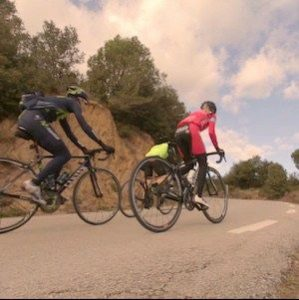 Barcelona to Ullastrell road bike group ride