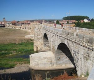 One of the most mythical passes of the Camino is the bridge over the Orbigo River