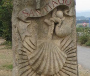 The Camino by bike nearby Sarria